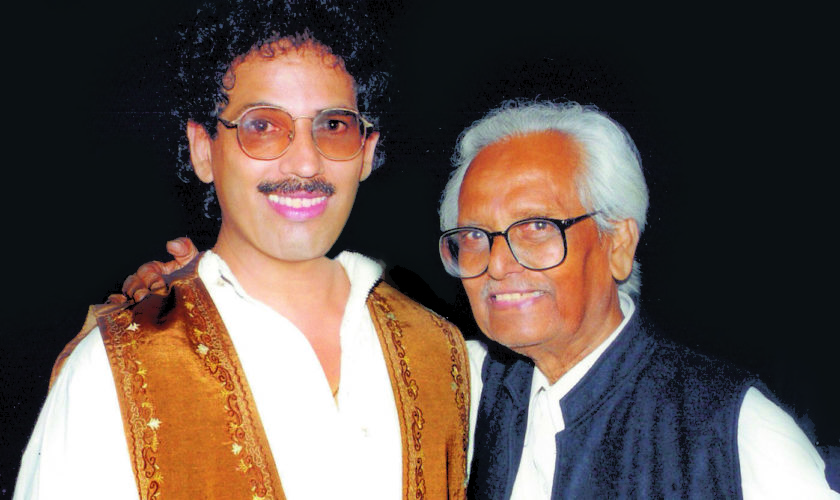44 years – Manohar Iyer with Anil Biswas