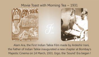 Movie Toast with Morning Tea 1931
