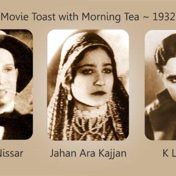 Movie Toast with Morning Tea 1932