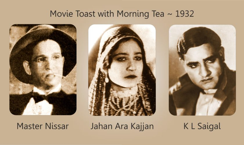 Movie Toast with Morning Tea 1932