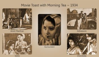Movie Toast with Morning Tea 1934