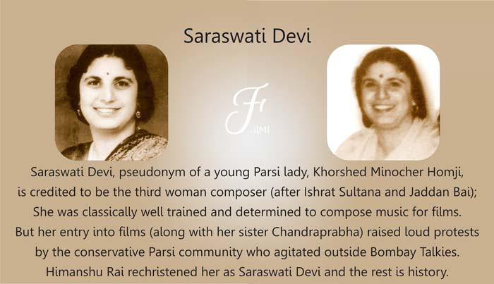 Bombay Talkies Saraswati Devi