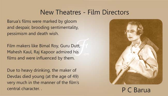 P C Barua Director New Theatres