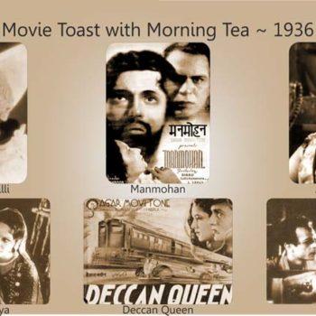 Movie Toast with Morning Tea 1936